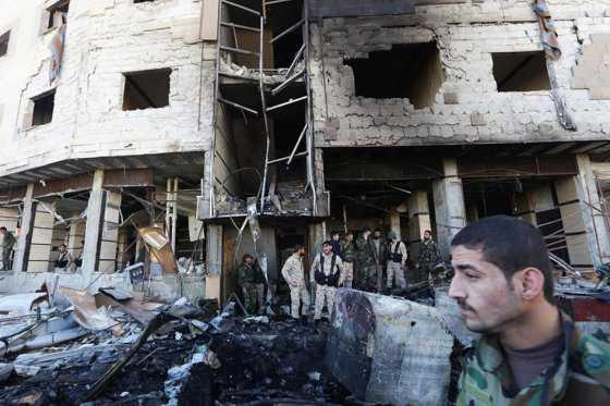 Asciende a 71 cifra de muertos por atentado del Estado Islámico en Damasco