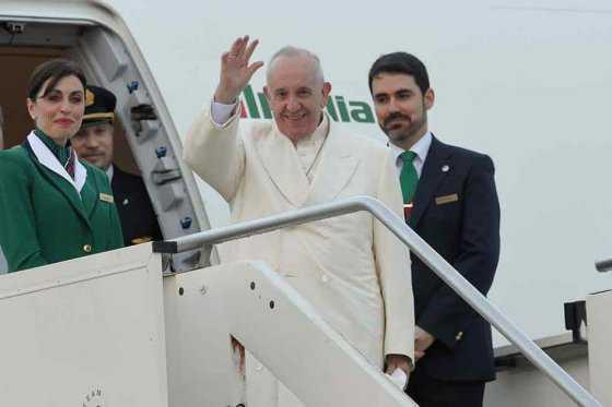 Francisco vuela a Cuba para reunirse con el patriarca ruso Kirill