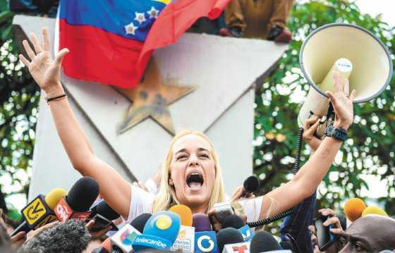 """""""Leopoldo está listo para comandar Venezuela"""": Lilian Tintori"""