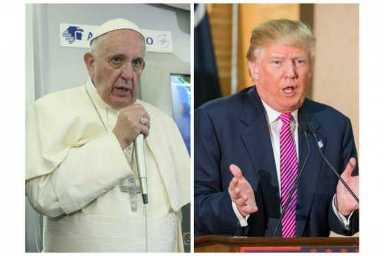 Rifirrafe entre el papa Francisco y Donald Trump