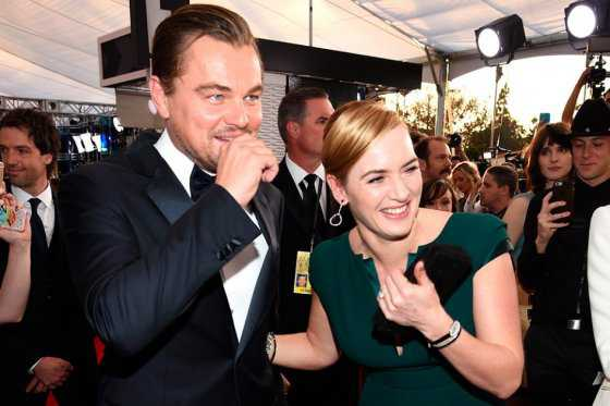 Kate Winslet está convencida de que Leonardo DiCaprio ganará el Óscar
