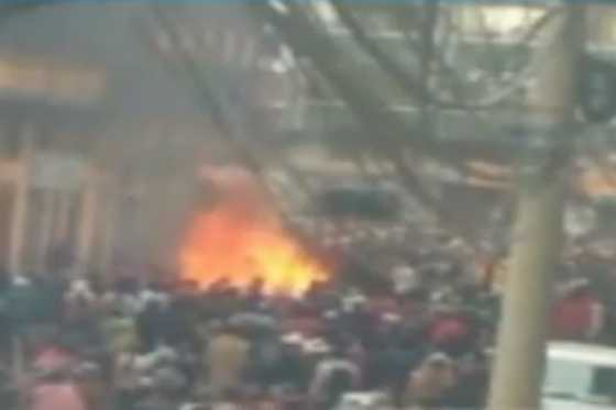 Seis muertos tras quema de una alcaldía en Bolivia
