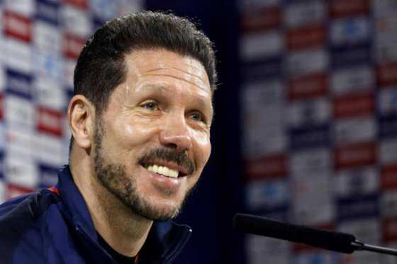 Simeone: «Mientras haya puntos, la Liga siempre está en juego»