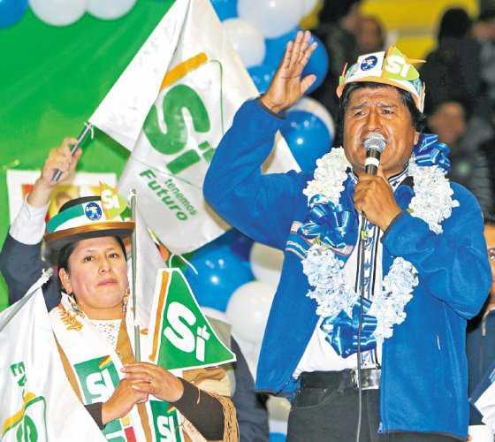 El Alto, donde Evo se juega la reelección