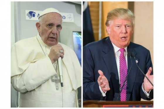 Rifirrafe entre el papa Francisco y Donald Trump