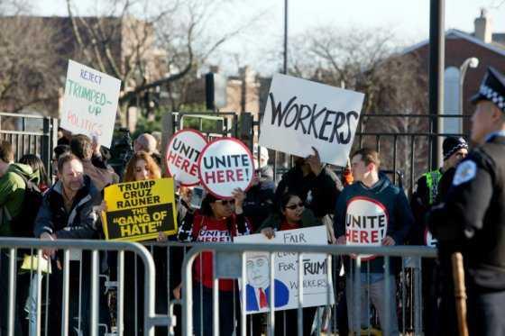 Trump suspende acto en Chicago por razones de «seguridad»