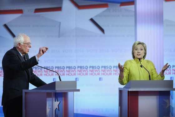 Sanders presiona a Clinton en las primarias de este sábado