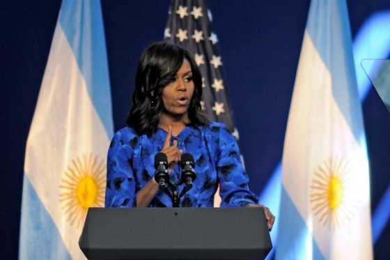 Con estas palabras, Michelle Obama les habló a las mujeres argentinas