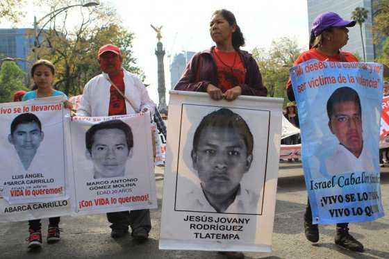 CIDH pide investigación 'imparcial' en caso de 43 desaparecidos