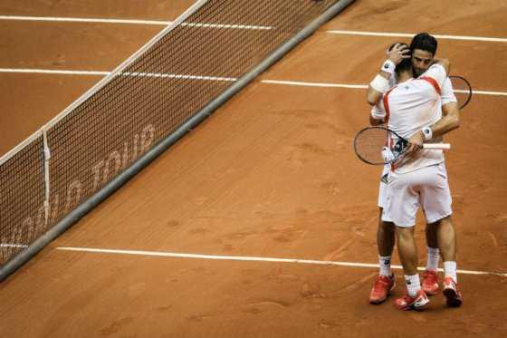 Cabal y Farah derrotaron a la dupla número uno del tenis en Montecarlo