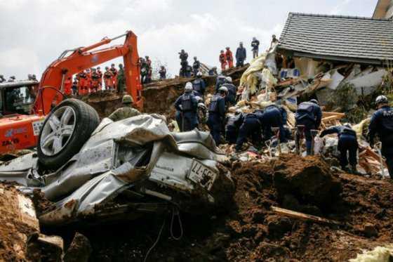 A 47 se eleva cifra de muertos por dos terremotos en Japón