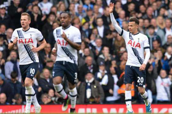 Tottenham goleó al Manchester United y continúa al acecho de Leicester