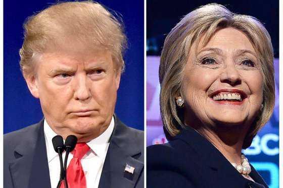 Trump y Clinton apuntan a sorprender en nueva fecha de primarias en EE.UU.