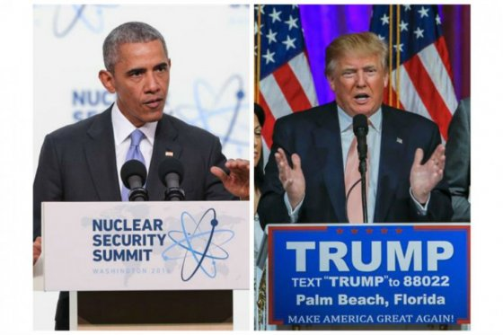 Obama arremete contra Trump por sus comentarios sobre armas nucleares