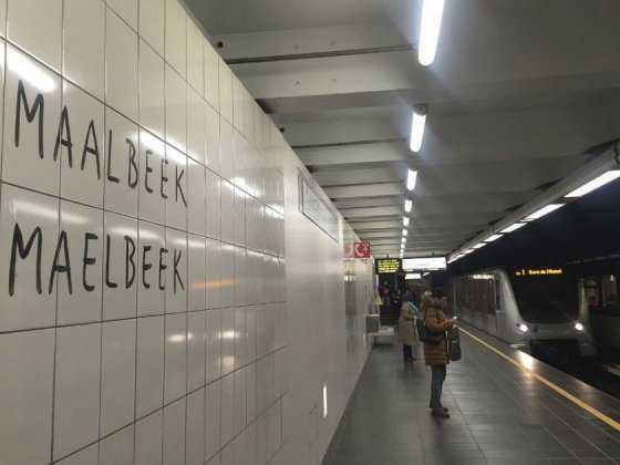 El metro de Bruselas vuelve a funcionar con normalidad