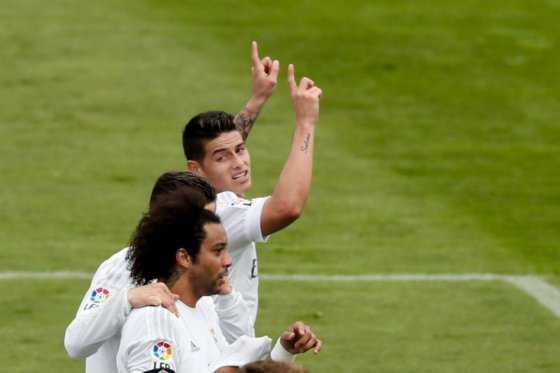 James supera a Zidane en las primeras dos temporadas en el Madrid
