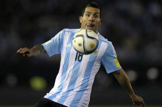 Carlos Tevez, fuera de la lista de Argentina para la Copa América