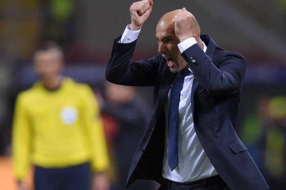 Zinedine Zidane, primer entrenador francés que gana la Champions