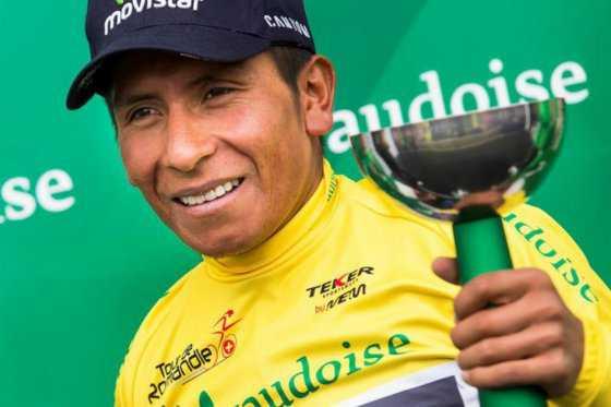 Nairo Quintana, campeón en el Tour de Romandí