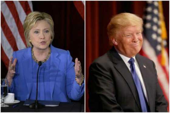 Ventaja de Clinton sobre Trump se estrecha en EE.UU., según sondeo