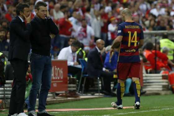 Mascherano dejaría el Barcelona