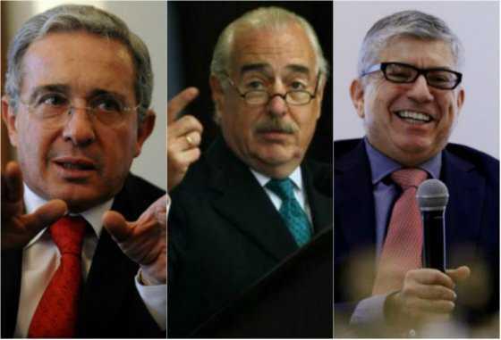 Uribe, Pastrana y Gaviria suscriben documento de la OEA sobre crisis en Venezuela
