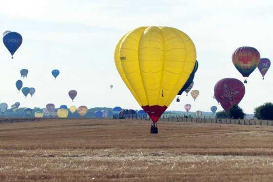 Se estrelló un globo aerostático con 16 personas a bordo en Texas