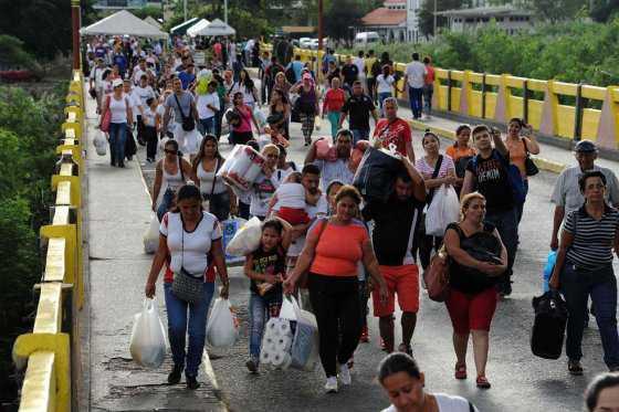 La odisea de conseguir comida en Venezuela