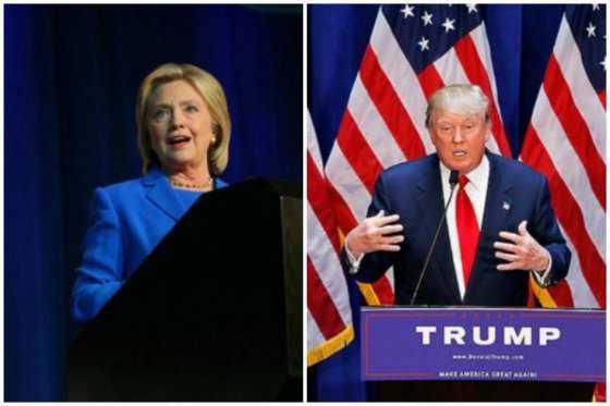 Trump y Clinton, cabeza a cabeza por la Casa Blanca según sondeo