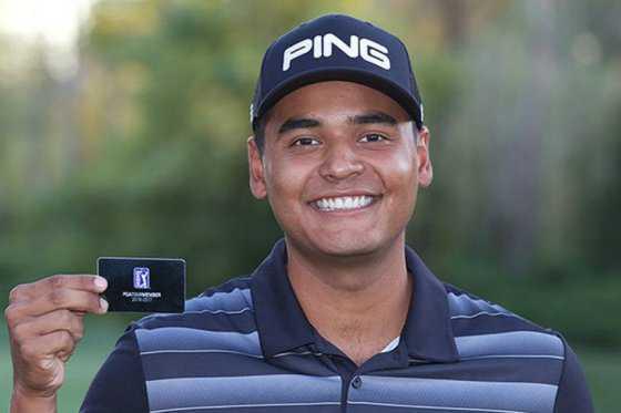 Juan Sebastián Muñoz ganó tarjeta del PGA Tour