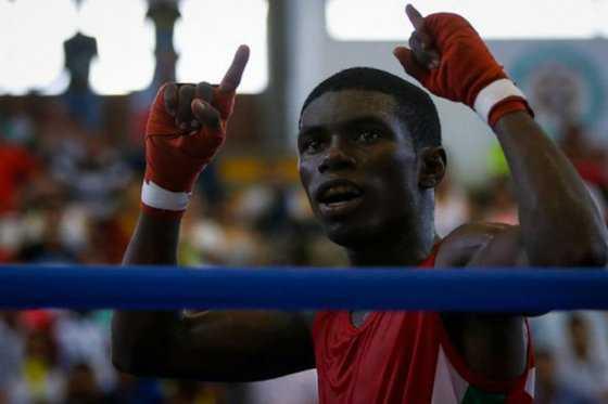 Yuberjen Martínez ganó su primera pelea en el torneo de boxeo de los Olímpicos