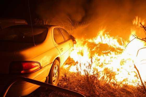 82.000 personas son evacuadas por incendio en California