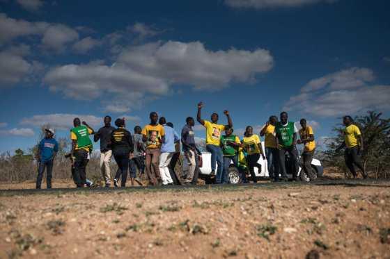 Cuando el partido de Mandela, el Congreso Nacional Africano, perdió en Sudáfrica