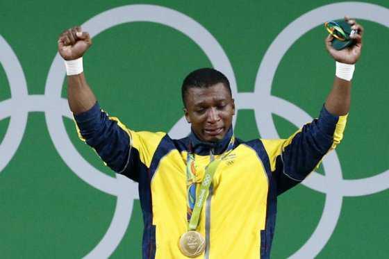 Óscar Figueroa, primera medalla de oro para Colombia en Río 2016