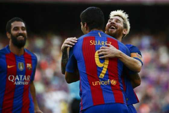 Barcelona inicia la Liga de España con goleada 6-2 sobre el Betis