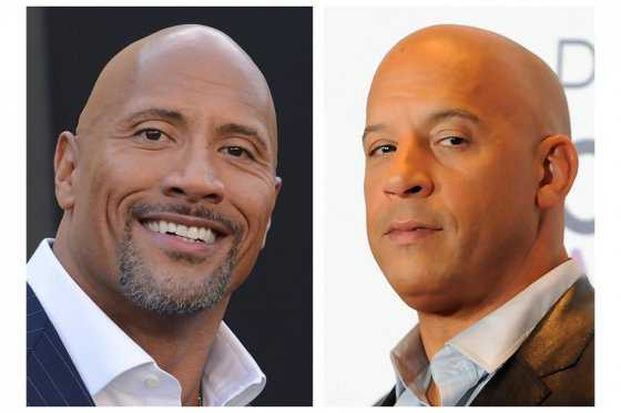 Sigue pelea entre Vin Diesel y Dwayne Johnson