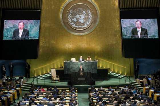 Ban Ki-moon abre la Asamblea General de la ONU llamando a acabar los combates en Siria