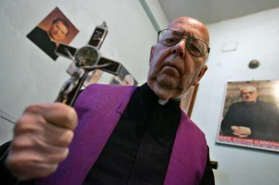 Falleció Gabriele Amorth, el exorcista del Vaticano