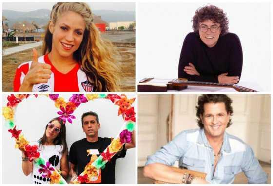 Los artistas que trinaron a favor de la paz con las Farc