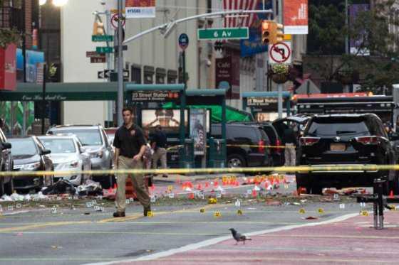 Autoridades descartan que explosión en Nueva York esté vinculada al terrorismo internacional