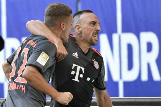 Bayern Múnich mantiene su racha triunfal en la Bundesliga: venció 1-0 al Hamburgo