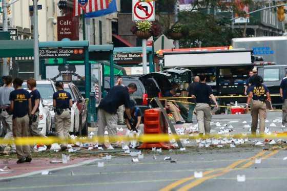 «Bomba en Nueva York fue un acto de terrorismo»: alcalde