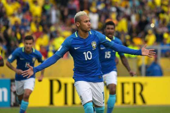 Neymar, la estrella del Brasil de Tite