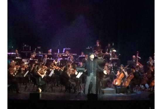 Santiago Cruz conquistó a los bogotanos con su nuevo sinfónico