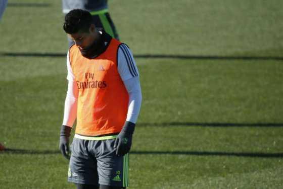 James Rodríguez, descartado para partido de Real Madrid contra Osasuna