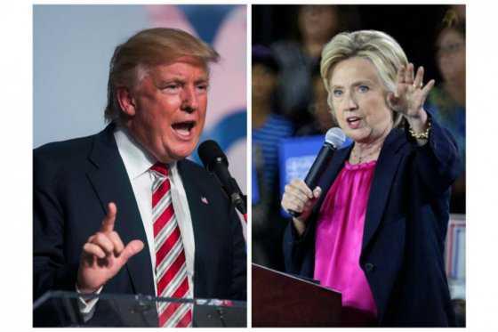 Hillary Clinton y Donald Trump están empatados, según encuesta del NYT