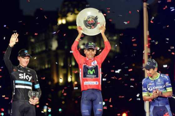 Es oficial: Nairo Quintana es el campeón de la Vuelta a España 2016