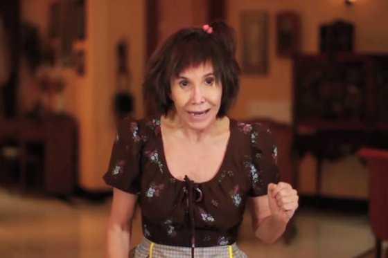 """Florinda Meza reaparece con una """"Chimoltrufia"""" youtuber"""