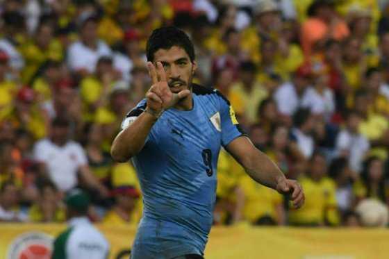 Luis Suárez iguala un récord histórico en eliminatorias y encamina a Uruguay a Rusia
