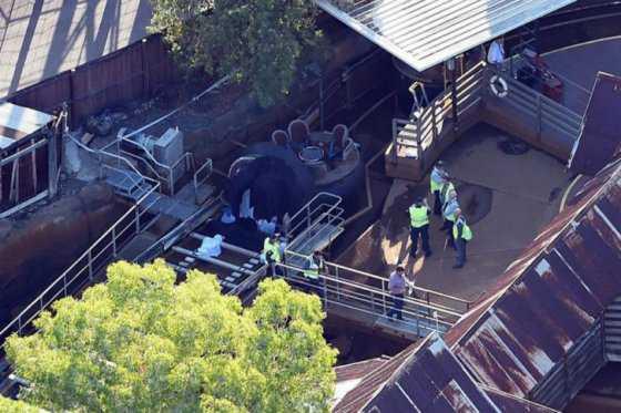 Cierran temporalmente parque de diversiones de Australia en el que murieron 4 personas
